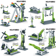 Mechanical Gear Technic Building Blocks Engineering  student model bricks Compatible with 1000-1