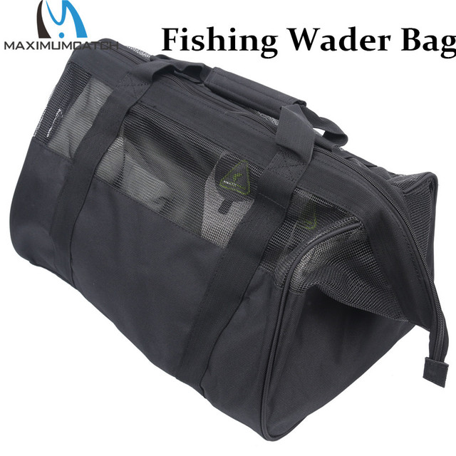 Maximumcatch Mesh Fishing Wader Bag Pvc Venting 17 7 L X 11 8 H