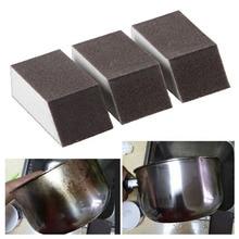 Magic Brush Alumina Emery Sponge Rust Dirt Stains Clean Brush Bowl Wash Pot Home Kitchen Cleaning Brush