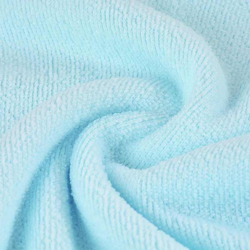 Urijk Su Emici Temiz Havlu Saf PolyesterTowel Plaj Havlusu Saf Renk Kalın banyo havluları Süper Yumuşak Mikrofiber Havlu
