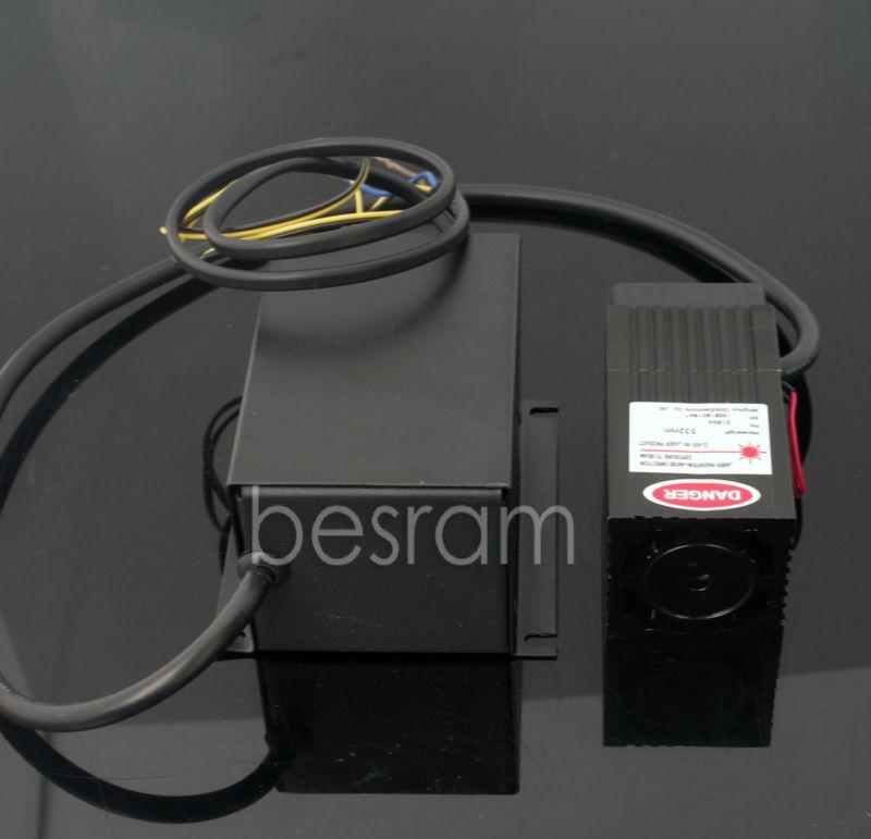 532nm 150mw-200mw Green Laser Module Diode TEC Fan TTL/Analog DPSS 220v 150mw 405nm blue violet purple laser diode module 12vdc ttl stage lighting