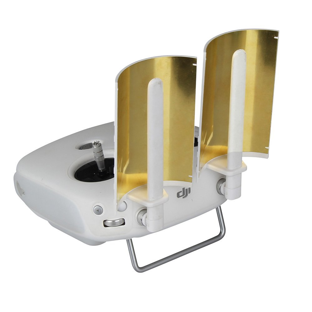 Copper Parabolic Antenna Signal Range Booster for DJI Phantom 4/4 Pro/3 Pro/Advanced/4k/ Inspire 1 Transmitter Signal Extender drone helipad