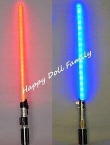 Лазерный/световой меч, Звездные войны АНАКИН К ДАРТ ВЕЙДЕР изменение цвета световой меч, лезвие изменения цвета (красный синий)