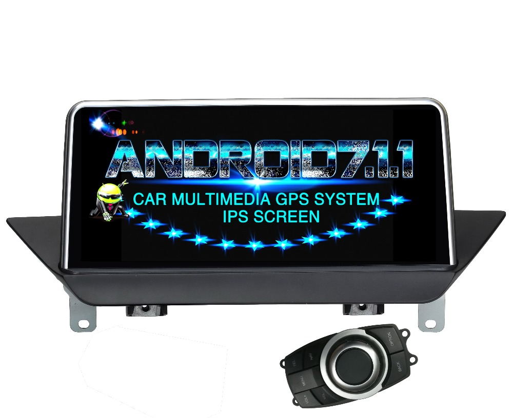 Android 7.1.1 Car DVD player FOR bmw X1 E84 2009-2015 + IDrive Without original screen car audio monitor stereo receiver
