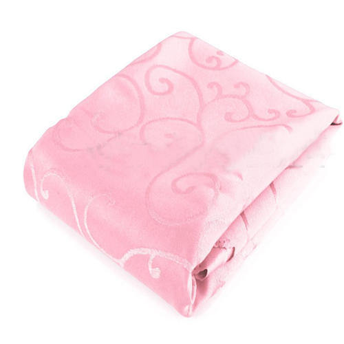 Square Tablecloths Catering Table Cover Wedding Party Restaurant Banquet Decor 1.2*1.2m Pink