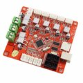 Free Shipping 3D Printer Mainboard for Anet V1.0 printer control Reprap Mendel Prusa Control Motherboard for M505 Printer