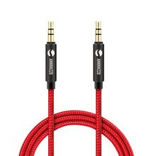 3.5 mm Jack Aux Audio Cable Male to Car Gold Plated Auxiliary for / iPhones Media Players