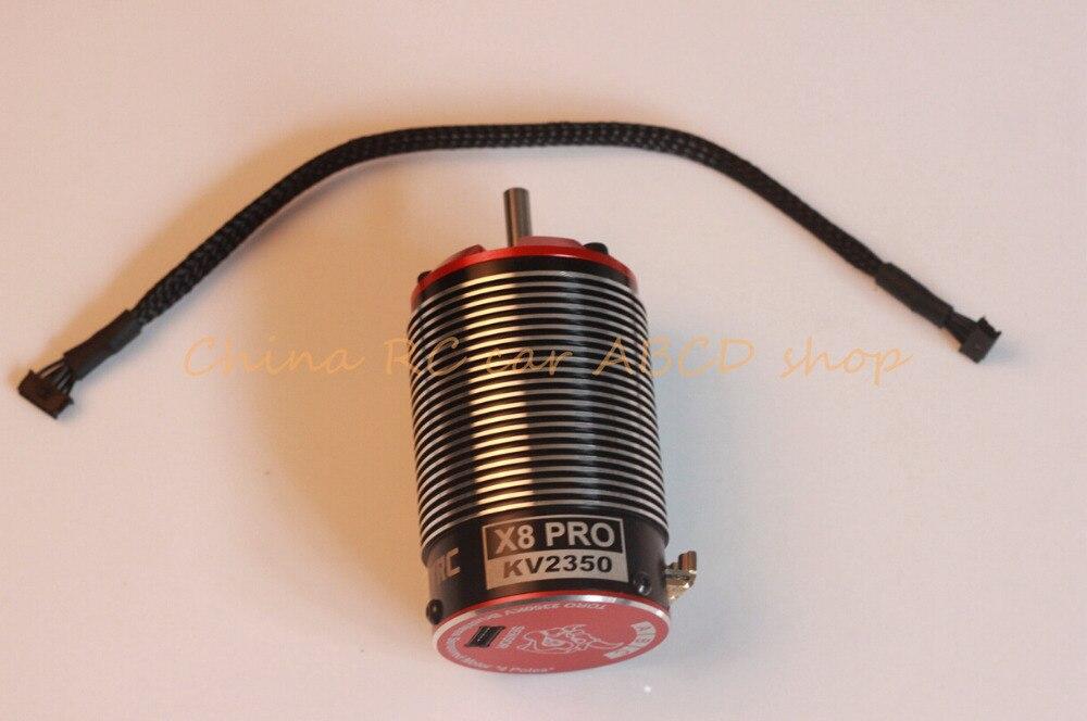 SKYRC TORO X8 pro motor for 1 8 buggy rc car 4 pole rotor 2350KV 2150KV