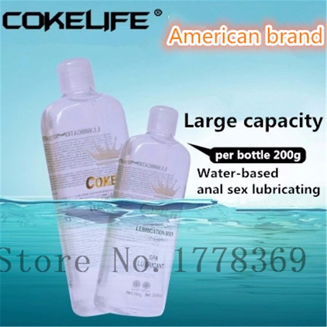 200ML Personal Water-Based Sex Lubricant for Anal sex Relieve pain SPA Massage Oil Masturbation Grease Sex Lube Oral Vaginal Gel