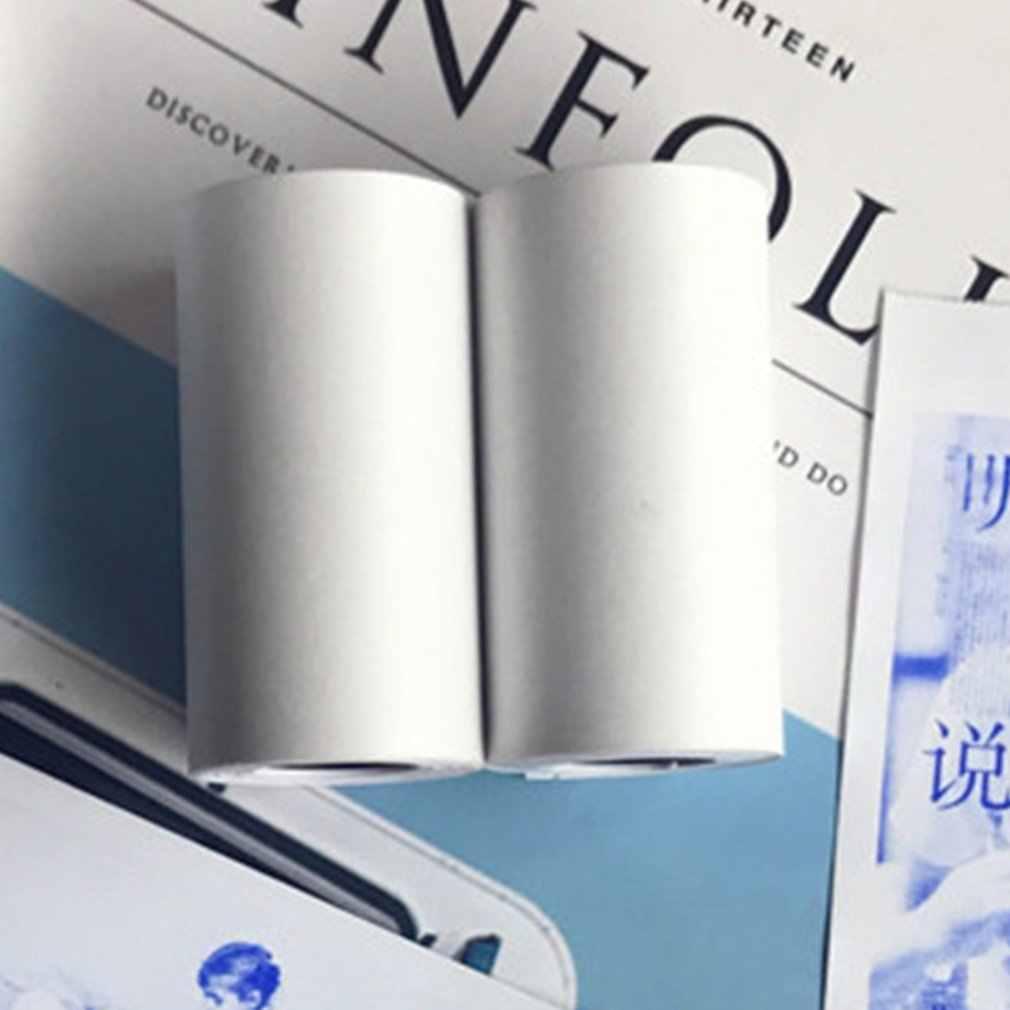 3 Rolls Durevole Stampabile Adesivo di Carta Termica Diretta di Carta Carta Self-Adesivo per Paperang Mini Foto Accessori per Stampanti