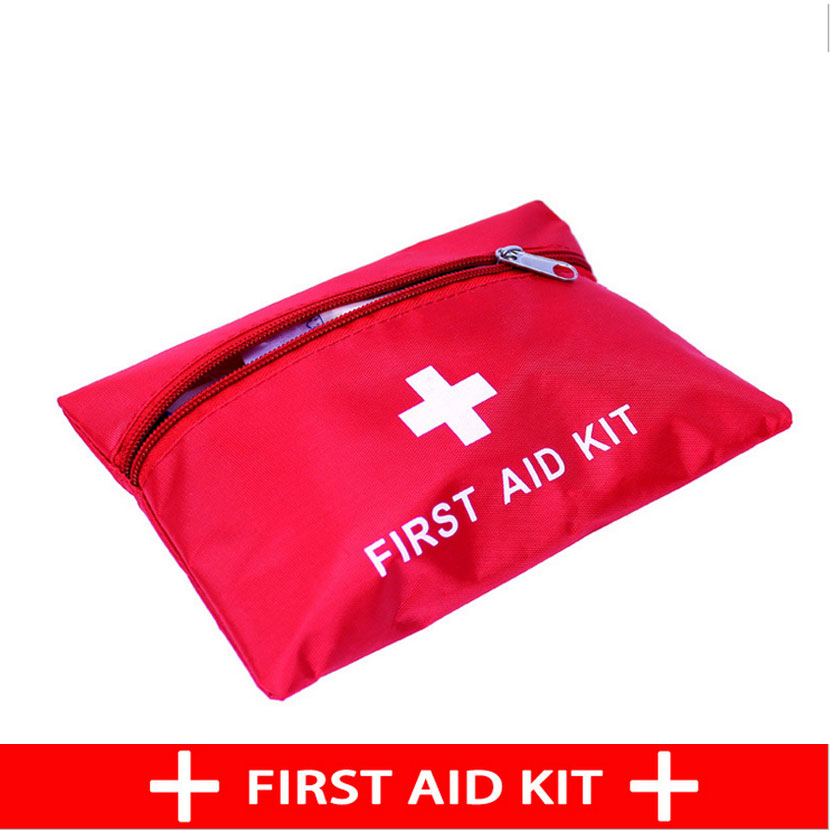 Outdoor first aid kit home first aid kit portable car field supplies self-defense earthquake emergency kits medical kits  50pcs lot wholesale disposable medical iodine for emergency kits first aid kit supplies cotton stick disinfected wound care swab