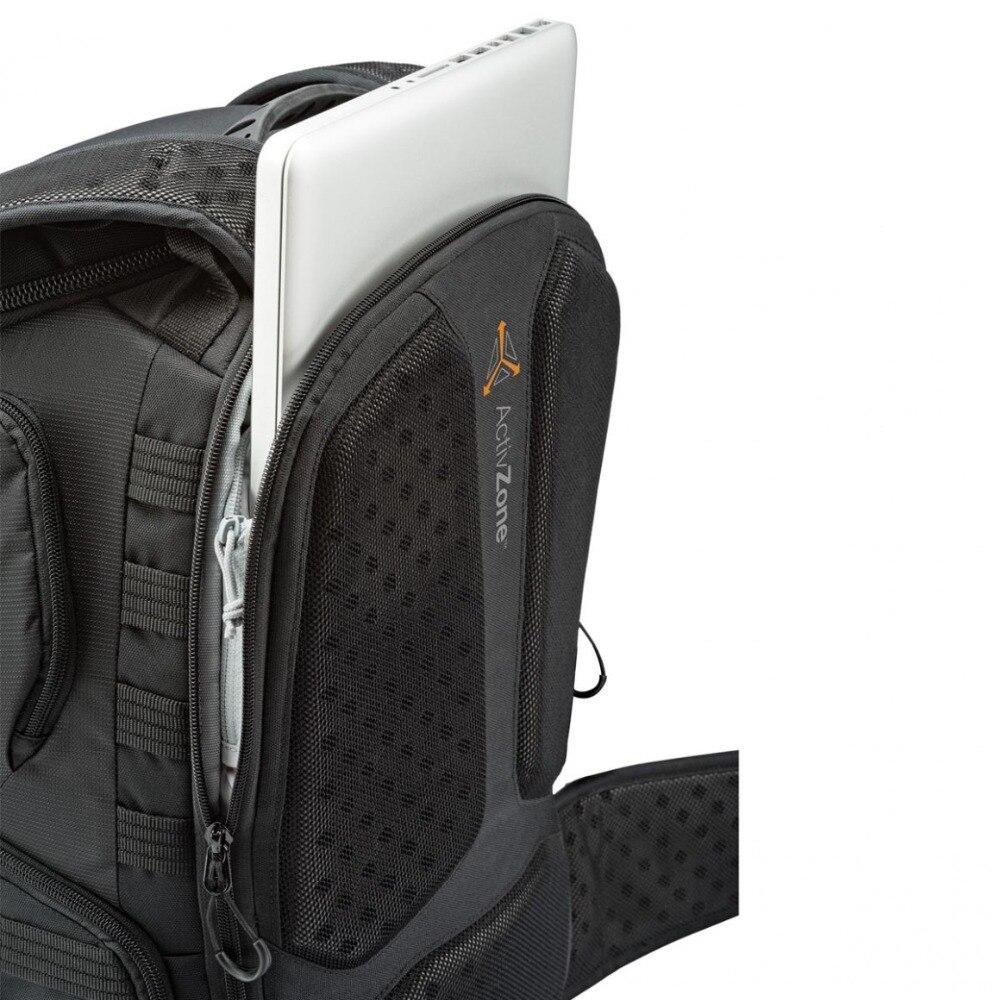 Genuino Lowepro ProTactic 450 aw hombro Cámara bolsa SLR Cámara bolsa Laptop mochila con todas las cubiertas meteorológicas 15,6 pulgadas portátil - 5