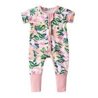 Yenidoğan Kış Tulum Pamuk Bebek Kız bebek Erkek Ayı Jumpers Tulum Playsuit Kıyafetler Giysi fermuar 0-3 Yıl Xmas D3
