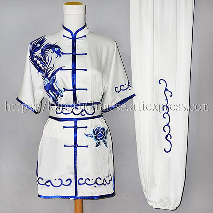 Chinese wushu uniform Kungfu clothing Martial arts suit taolu clothes for women children boy men girl