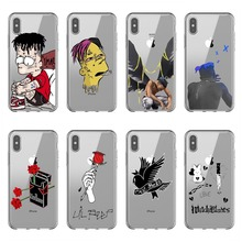 Fashion xxxtentacion bad vibes forever Lil Peep Soft Silicone Phone Case for iPhone X10 XR XS MAX 5 5S SE 6 6S Plus 7 8