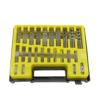 New 150PCS 0 4 3 2mm Drill Bit Set Small Precision With Carry Case Plastic Box