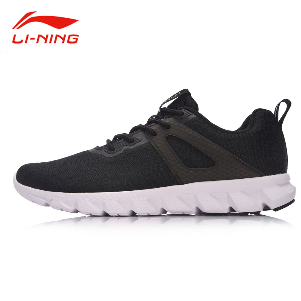 Li-Ning Men Arc Technology Cushion Running Shoes Light Breathable Sneakers Double Color Uppers LiNing Jog Sports Shoes ARHM053 li ning men dominator on court basketball shoes bounse cushion lining sports shoes tpu support sneakers abpm027 xyl120