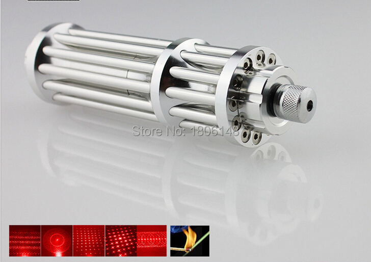 Военная 50 Вт 50000 м 650нм Красная лазерная указка световая ручка лазерный луч Высокая мощность фокус сжечь матч загоревшие сигареты + очки + под