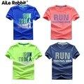 Jungen Schnell Trocknend T Shirt Sommer Kinder Sport Tops Teen Kinder Kleidung Baby Jungen Laufen T Shirt Kurzarm Kleidung|T-Shirts|Mutter und Kind -