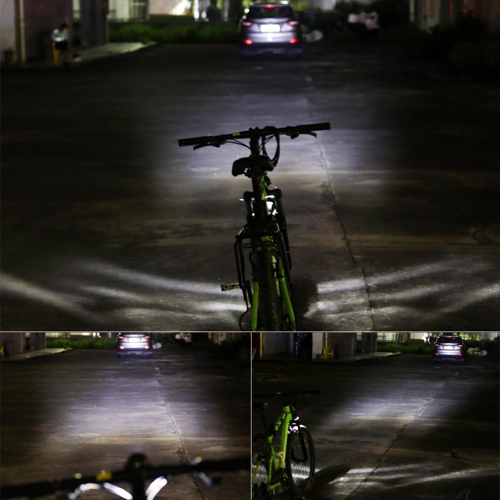 E-Bike Light Headlight 85Lux Input DC 12V 36V 48V 60V Standard with 2 Mounts Way
