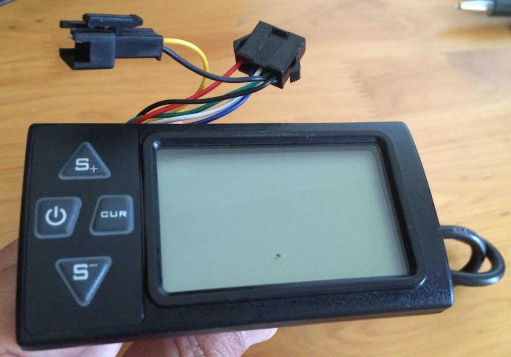 2020 24v36v48v250w350w Controller  U0026 Lcd Display 861 Manual Control Panel Dashboard For Electric