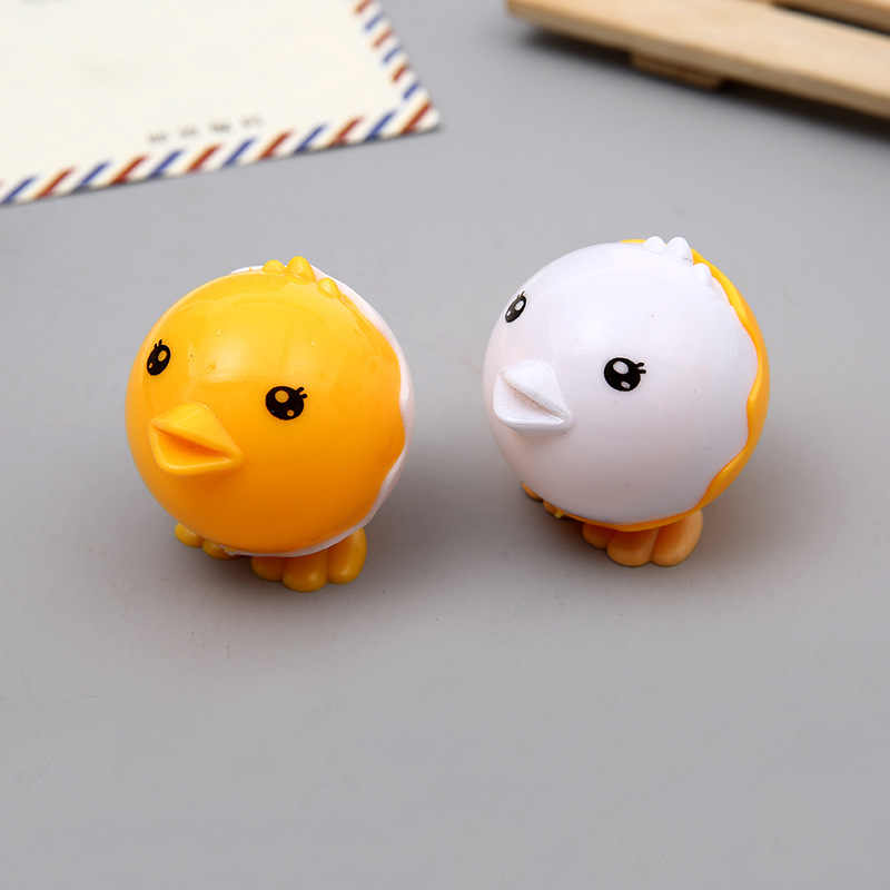 cute cartoon three-dimensional broken chicken pencil sharpener student pencil sharpener learning stationery