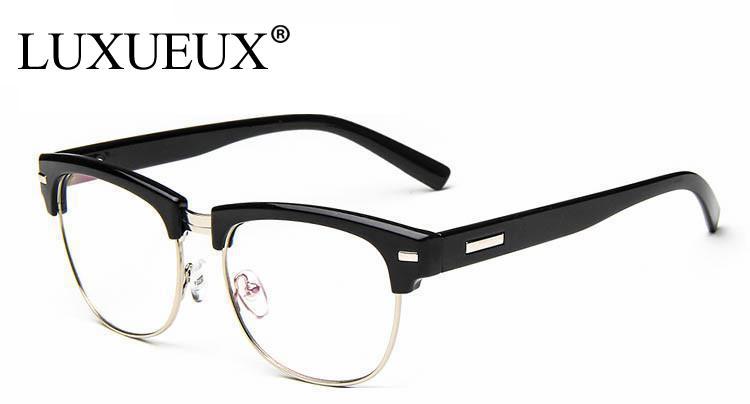 Aliexpress.com : Buy Fashion Stylish Semi Rimless Eye Glasses Frames ...