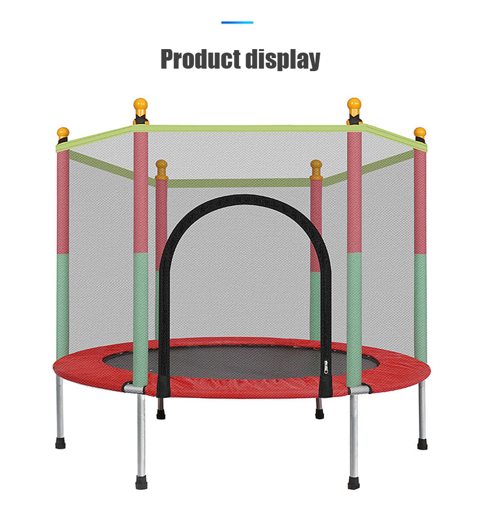 IMBABY Kids Bouncer Baby Jumper Indoor Trampoline Baby Children Bouncers With Guardrail Fitness Adult Trampoline Kid Jumpers