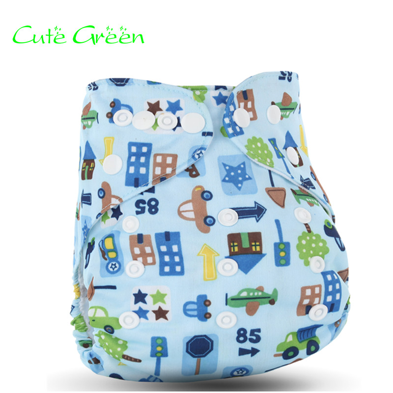 Waterproof PUL Baby Infant Diapers Nappy Baby Cloth Diaper Pocket;reusable Diapers With Nappy Insert;washable Pants Diaper Cover
