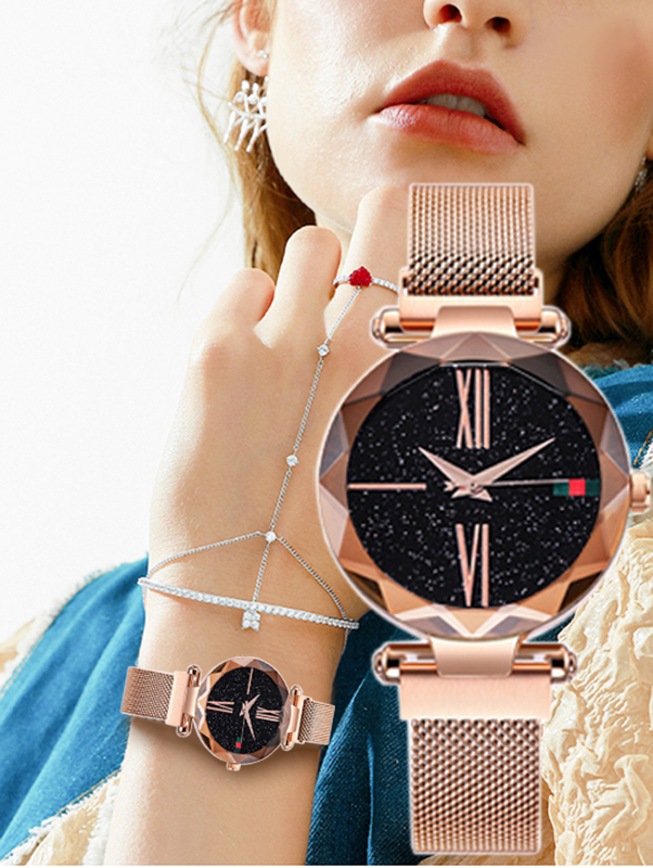 luxury-rose-gold-women-watch-starry-sky-magnetic-mesh-band-quartz-wristwatch-diamond-watches-relogios-feminino-montre-femme-2019