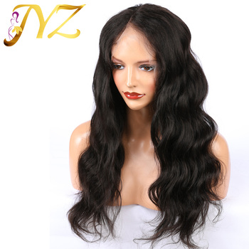 JYZ Pre-Plucked Lace Front Human Hair Wigs With Baby Hair Body Wave 13* 4 Brazilian Remy Human Hair Lace Wigs Bleached knots 130 density brazilian omber full lace wigs 1bt27 body wave blonde lace front human hair wigs with bleached knots and baby hair