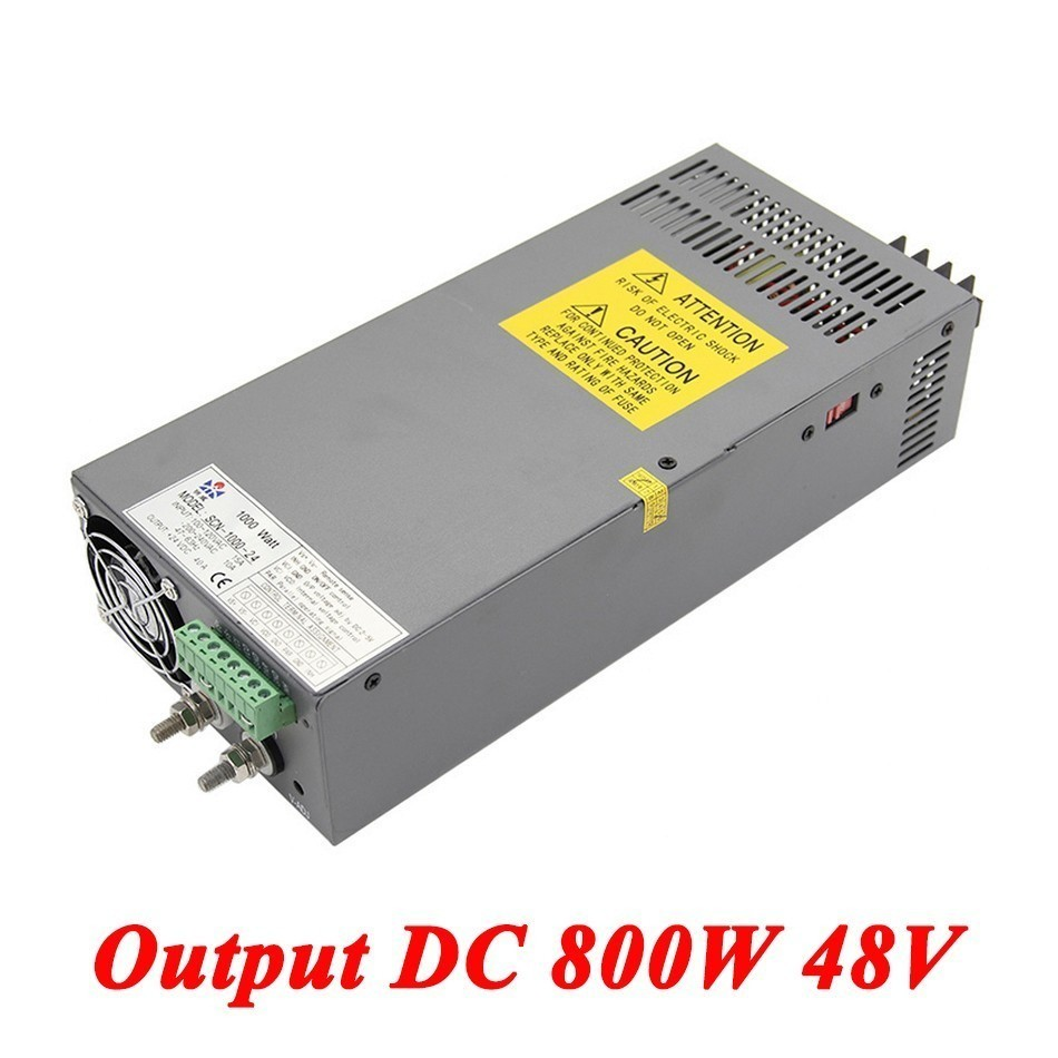 Scn-800-48 Switching Power Supply 800W 48v 16A,Single Output Industrial-grade Power Supply,AC110V/220V Transformer To DC 48V