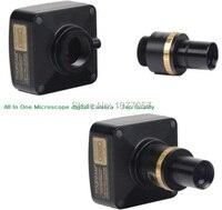 Бесплатная доставка, все в одном 9.0 м USB2.0 цифровой микроскоп окуляр камеры + 0.5x сокращение объектив Поддержка XP/Vista/W7 /W8/mac