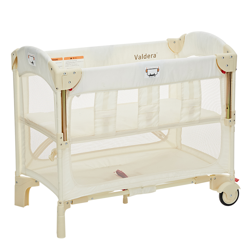 Babyfond Baby Bed Can Butt Joint Big Bed Multifunctional Folding Portable Neonatal Bed Small Apartment Special Bed