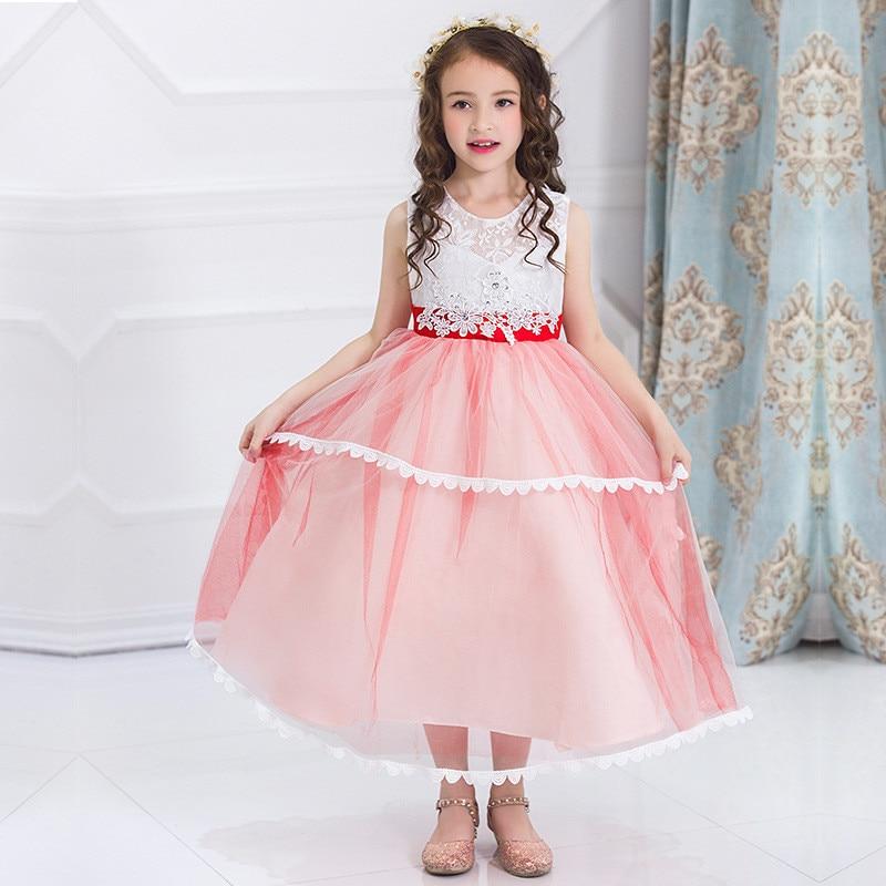Aliexpress.com: Comprar Casual Vestido de la Princesa Flor Del ...