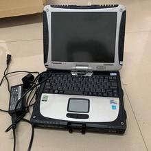 Авто Диагностический ноутбук для panasonic cf-19 сенсорный экран cf19 toughbook военный ноутбук 4 Гб ram вращающийся экран