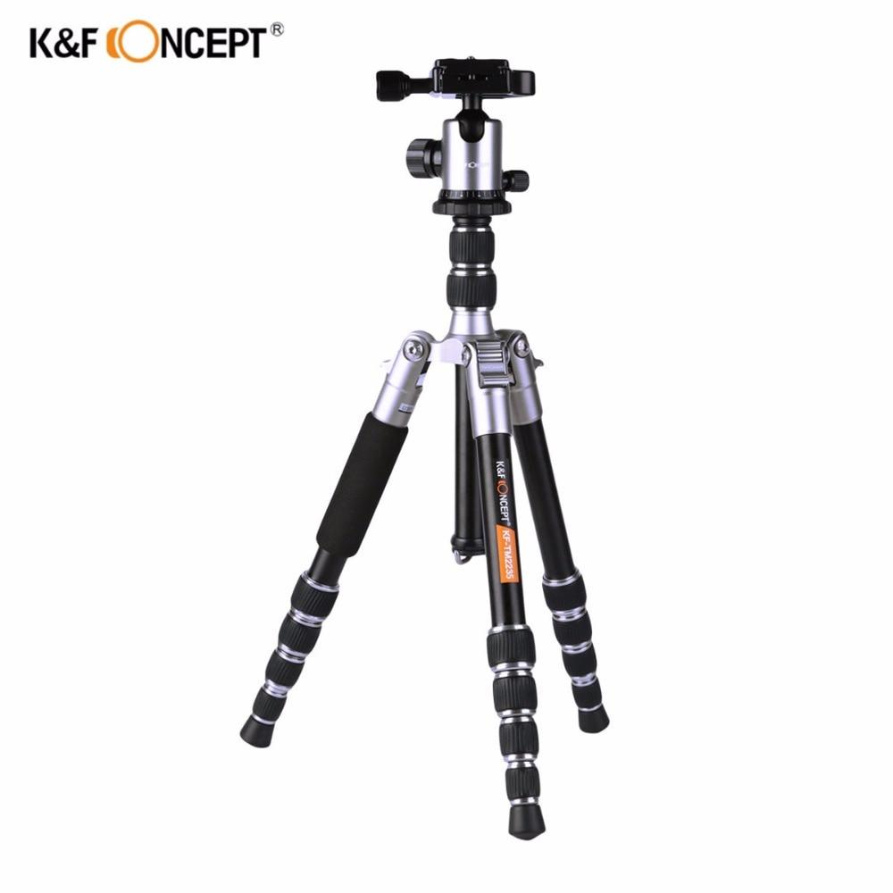 K & F CONCEPT Trepied pentru camera foto ușoară din aluminiu - Camera și fotografia