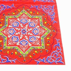 Image 3 - OurWarm EID Mubarak Decor Paper Napkin Disposable Table Cloth Cover Muslim Festival EID Al Fitr Ramadan Decor Party Supplies