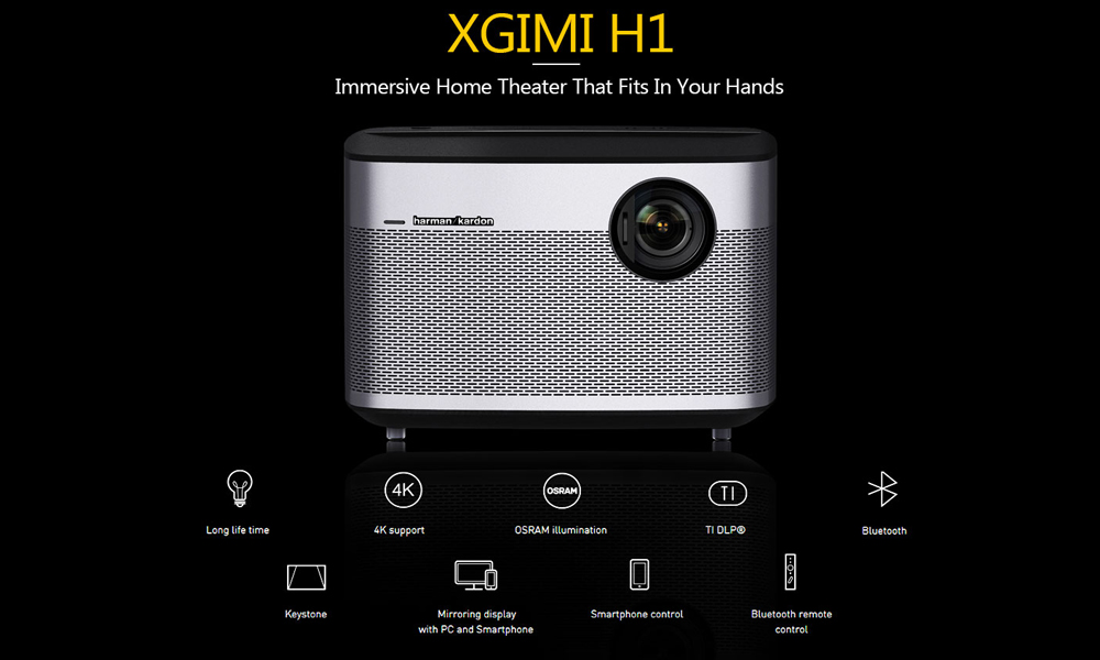 Xgimi H1 4K Projector  (51)