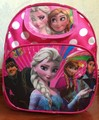 2015 Venta Caliente, de los niños elsa y anna monster high polka dot mochila escolar de color rosa para bebé muchachas de los cabritos del bolso preescolar del envío