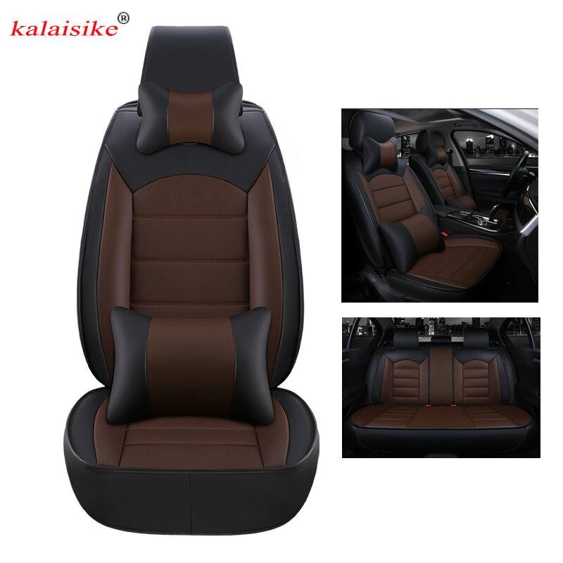 Kalaisike cuoio universale copertura di sede dell'automobile per Geely tutti i modelli Emgrand X7 Geely Emgrand EC7 EC8 EC9 accessori auto auto styling