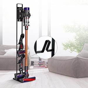 Image 2 - BUBM Metal Storage Vacuum Cleaner Bracket, Docking Station & Tools Floor Stand for Dyson V6 V7 V8 V10 Cordless Vacuum Cleaner