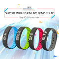 2016 newest super 3D pedometer pedometer waterproof smart bracelet support Android and IOS smart phone Bluetooth smart wristband