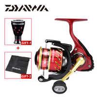 100% Original DAIWA CYGNUS 2506 Fishing Reels Spinning Reel Gear Ratio 4.8:1 Max Drag 3kg 4+1BB Metal Body carretilha de pesca