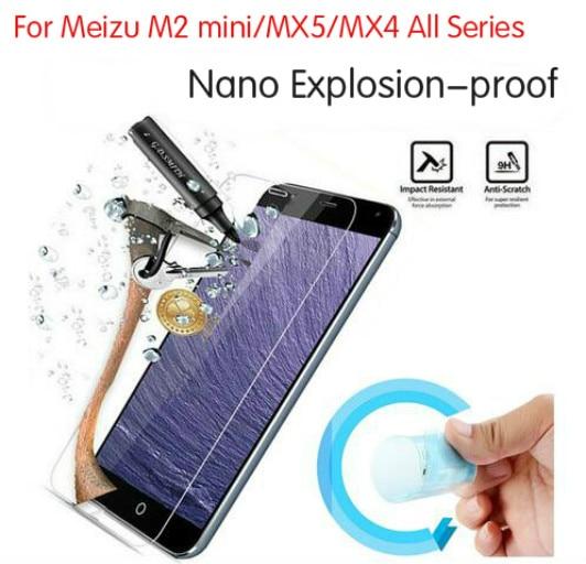 Soft Explosion proof Nano Protection Film Foil font b For b font font b Meizu b