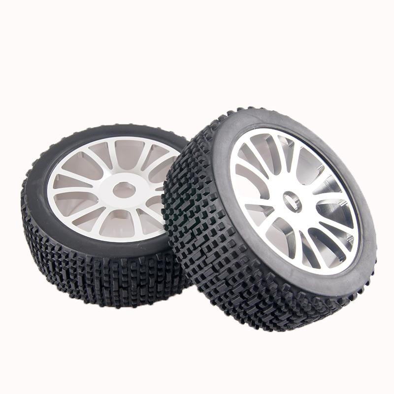 Iycorish 65Mm Leicht Metall Rad Reifen Reifen mit Verl/äNgertem 12Mm Combiner f/ür Wltoys 144001 A959 A949 A969 A959B RC Auto Teile Rot