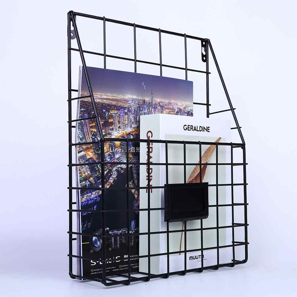 1PC fashion simple wall-mounted stainless steel hollow irregular geometric grid wall frame decoration #5J06