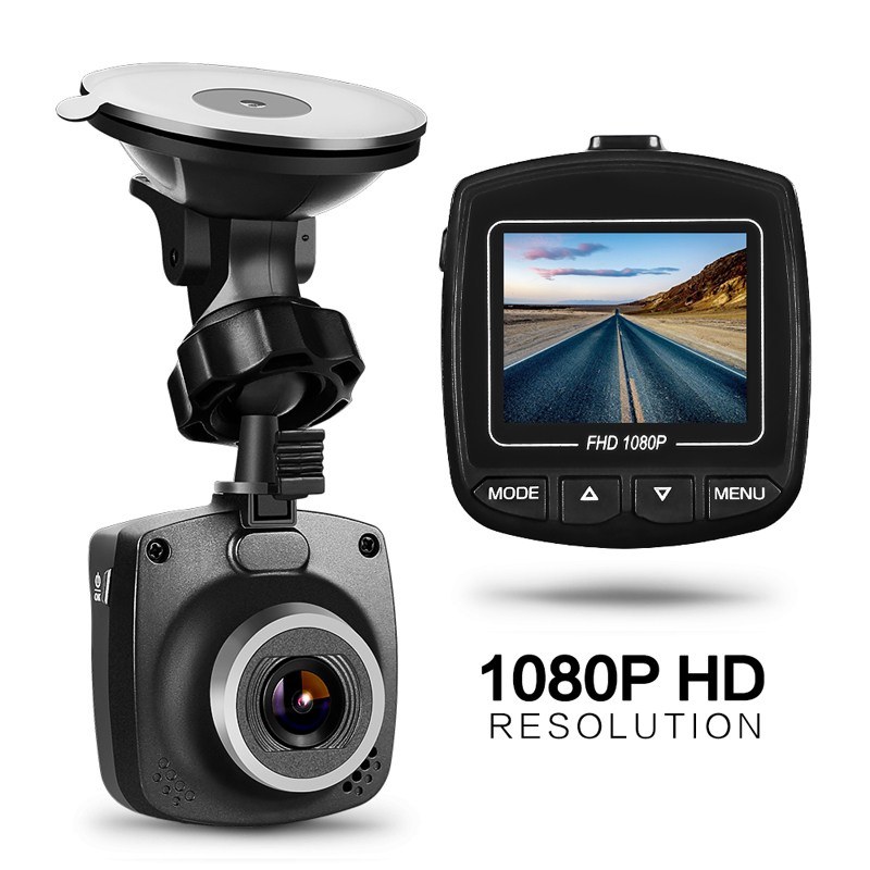 Drive-Recorder Dash-Cam Led-Screen Car-Dvr-Camera G-Sensor Night-Vision Full-Hd 1080P