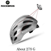 ROCKBROS Men Women Reflective Bicycle Cycling Helmets Super Bright Safety Helmet Rode MTB Bike Night Reflective Layer Helmet