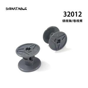 Smartable MOC Technic carrete bobinado de alambre de bloques de construcción piezas de impulsión juguetes creativos compatibles technic 32012 20 unids/lote